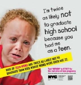 Teen Pregnancy Ad