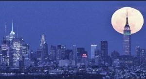 Supermoon NYC