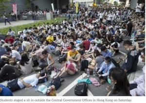 Hong Kong Occupy Cnetral