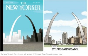 Ferguson New Yorker St. Louis Covers December 2014