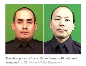 Police Officers Shot December 20 2014