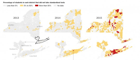 Opt Out Testing Graphic New York State 2015
