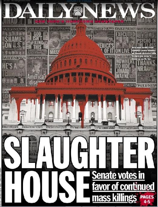 Daily News Headline Senate Pro Gun Control Vote