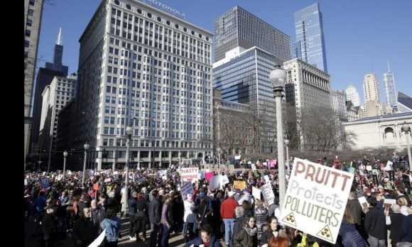 Womens March Chicago