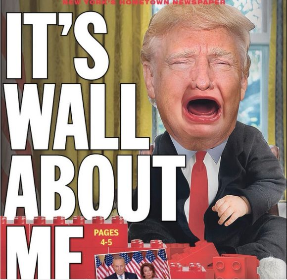 new york daily news cover blasts donald trump  the  u2018snit